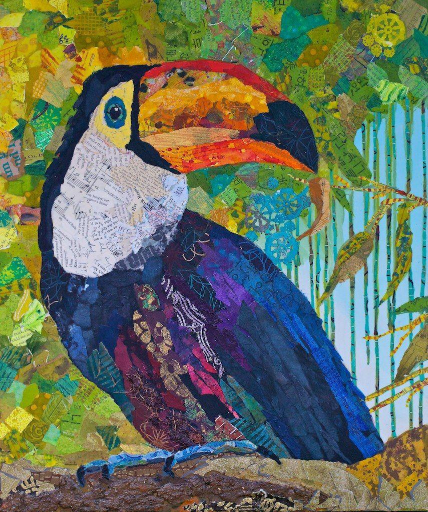 Toucan Malerier Maleteknikker Dyr