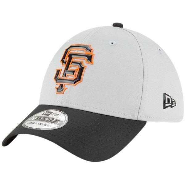 best sneakers 4dc53 4cd96 San Francisco Giants New Era Road 2018 Spring Training Edition ProLight 39THIRTY  Flex Hat - Gray