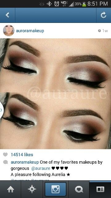 Neutral Smokey eye.. really like this one | Makeup <3 | Pinterest ...