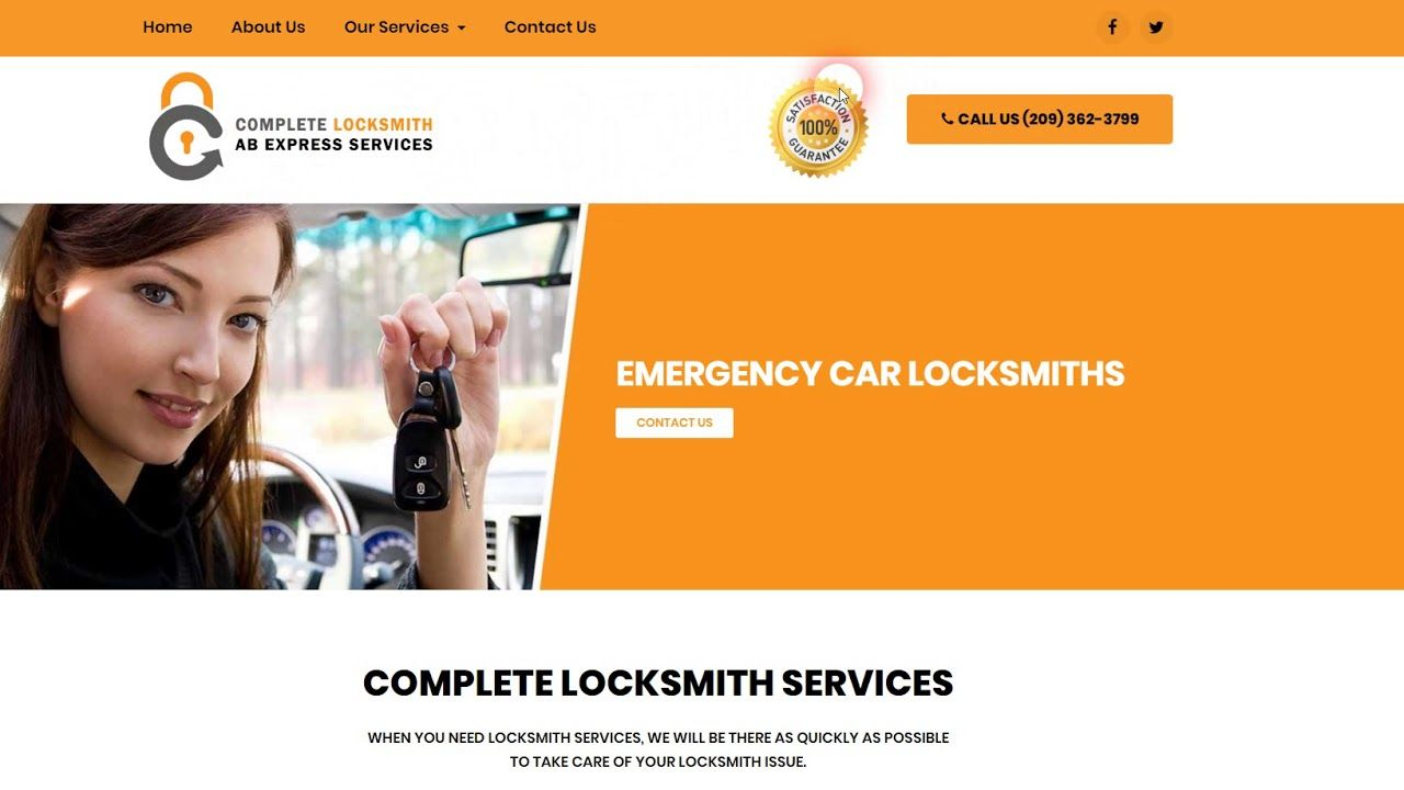 Complete Locksmith Web Design And Digital Marketing Digital Marketing Online Web Design Web Design
