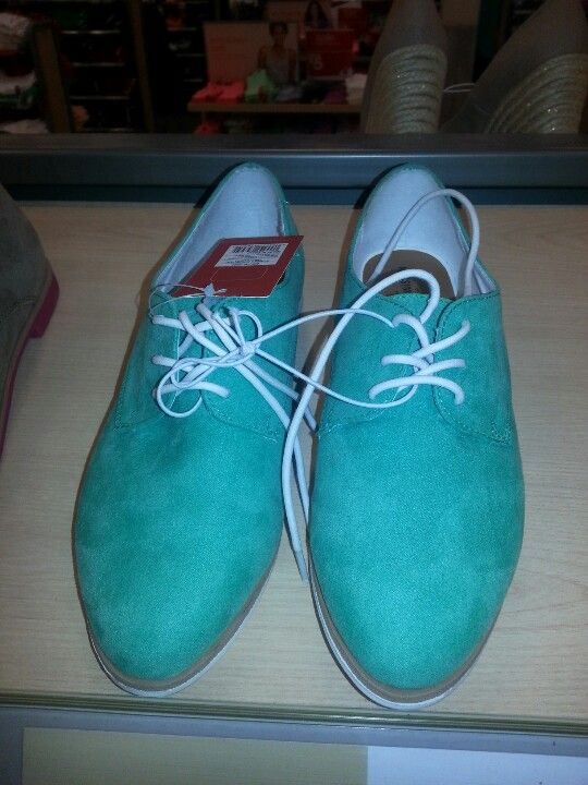 Women's Mossimo Supply Co. Olenka Oxfords - Mint