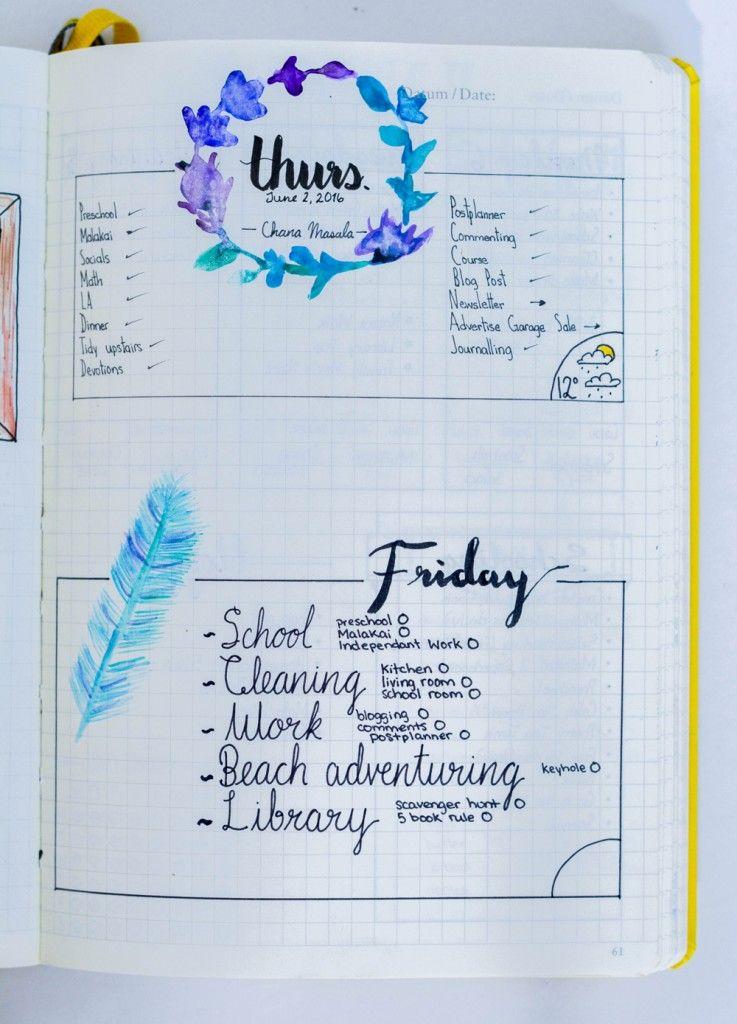 8 daily bullet journal layout ideas for your planner forms calendars bullet journal bullet. Black Bedroom Furniture Sets. Home Design Ideas