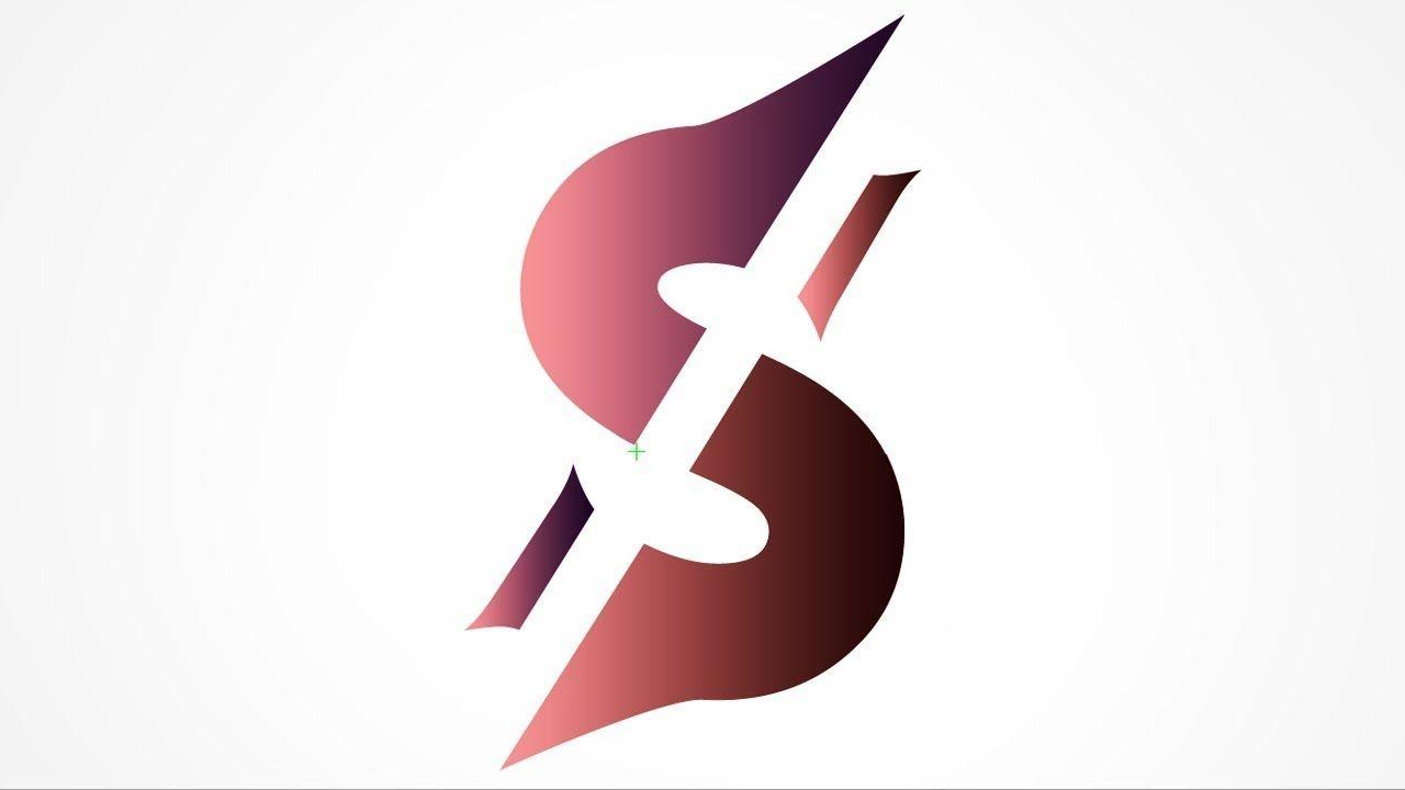 S Letter Logo Illustrator Tutorial S Logo Design Illustrator