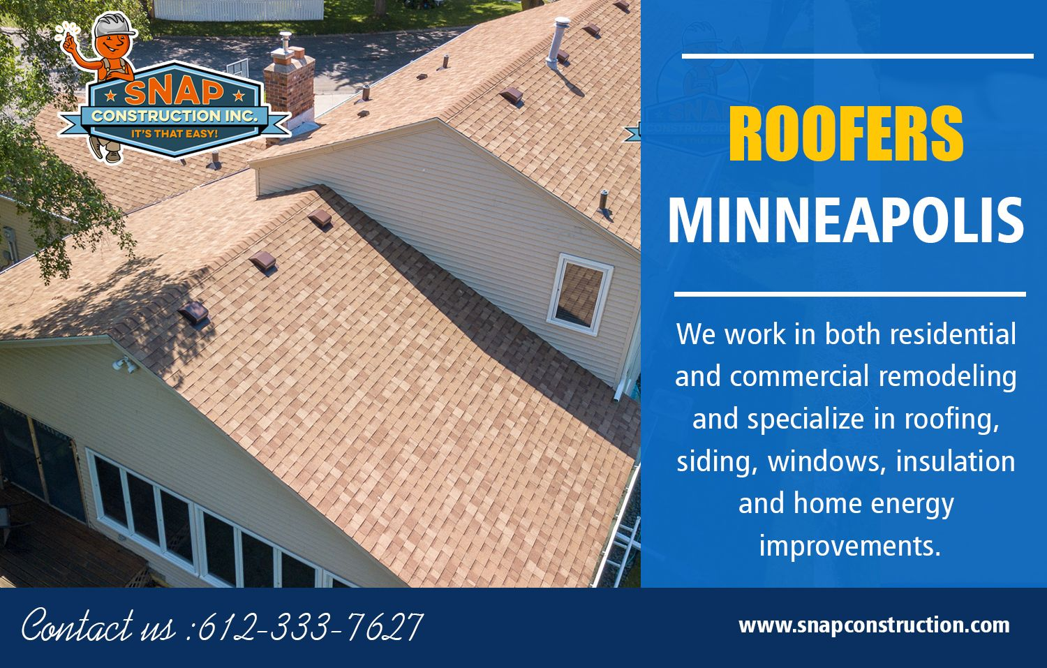 Roofers Minneapolis Call Us 6123337627 Snapconstruction Com Commercial Roofing Roofing Contractors Roofing Companies