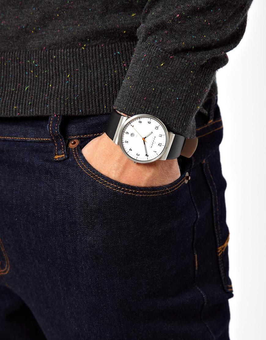 Skagen Watches This Ancher watch looks great on the wrist! at www.skagen.