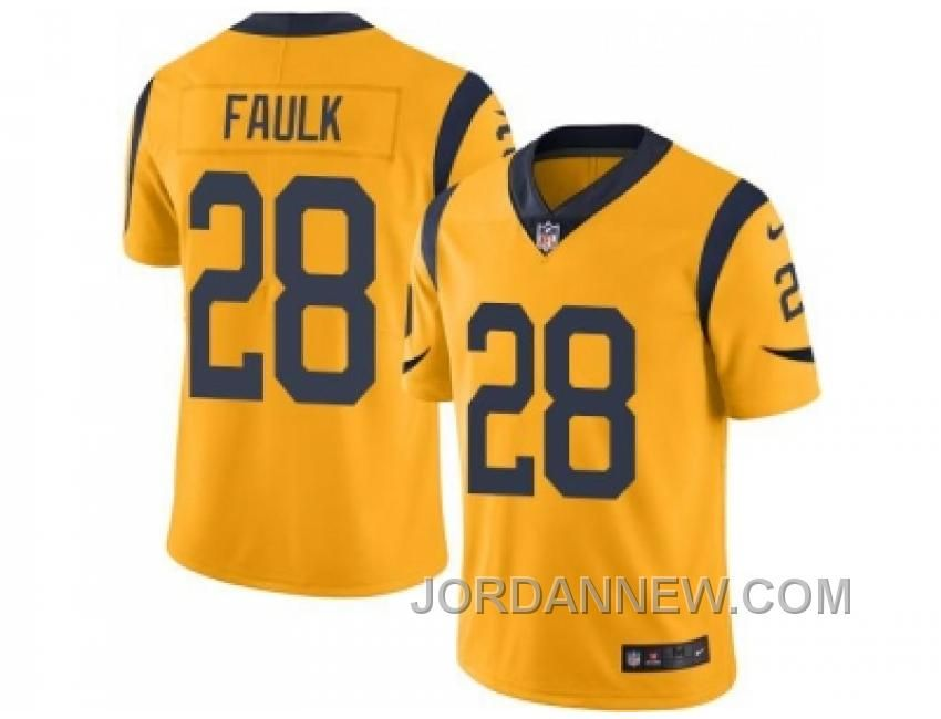 http://www.jordannew.com/nike-los-angeles-rams-28-marshall-faulk-gold-mens-stitched-nfl-limited-rush-jersey-authentic.html NIKE LOS ANGELES RAMS #28 MARSHALL FAULK GOLD MEN'S STITCHED NFL LIMITED RUSH JERSEY AUTHENTIC Only 21.74€ , Free Shipping!