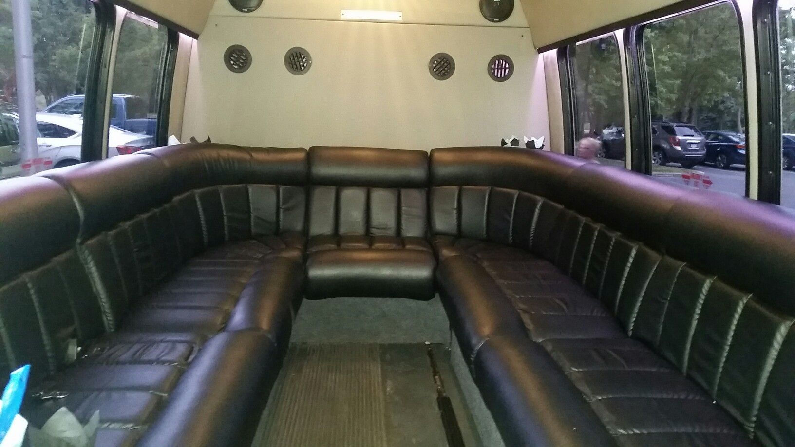 Birmingham Limousine Service inside party bus. | Wedding ...