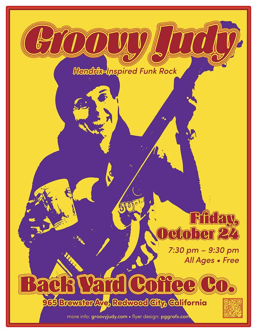 Groovy Judy Flyer - Back Yard Coffee October 24, 2014 ...
