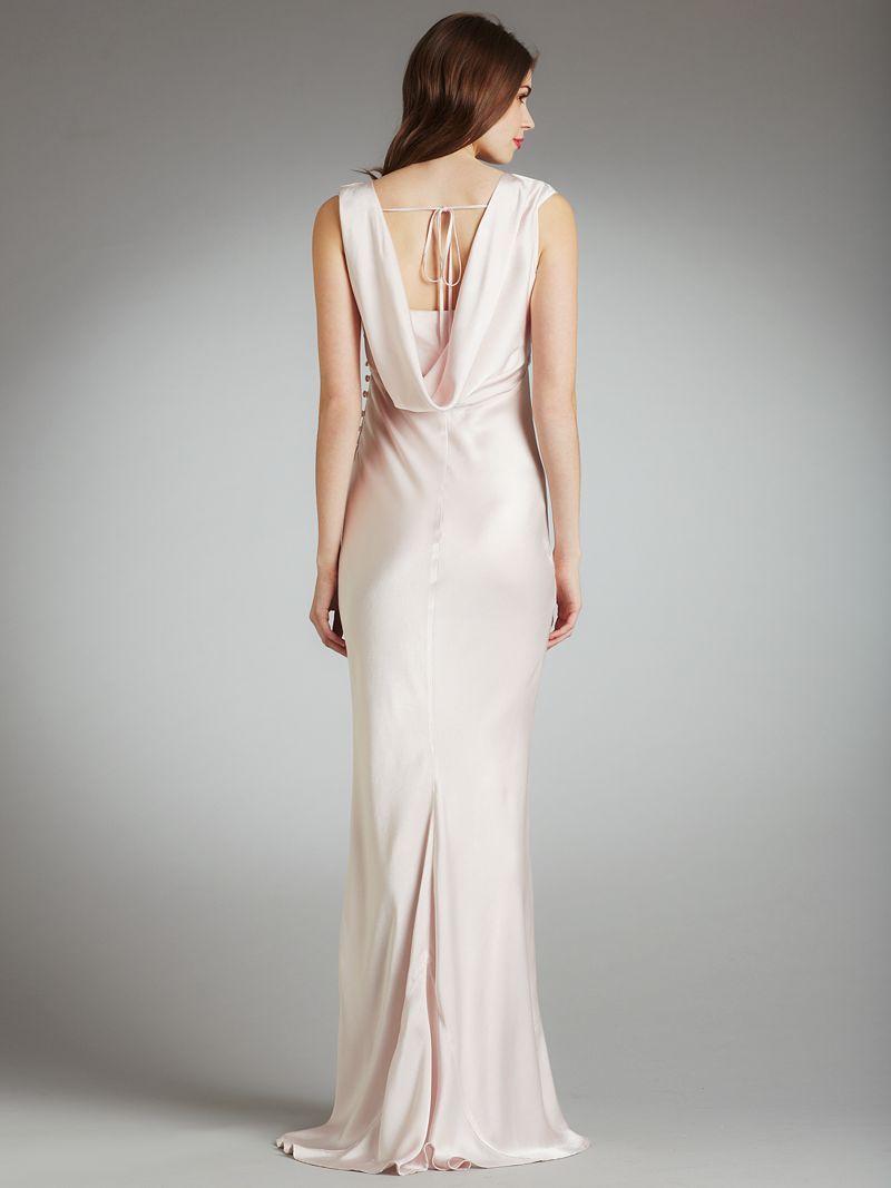 Buy ghost novella dress pink online at for John lewis wedding dresses