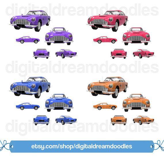 Car Clipart Car Clip Art Image Retro Auto Graphic Luxury Car
