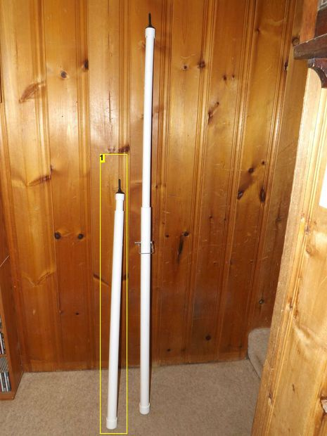 Telescoping Pvc Tent Or Awning Poles Camping Tent