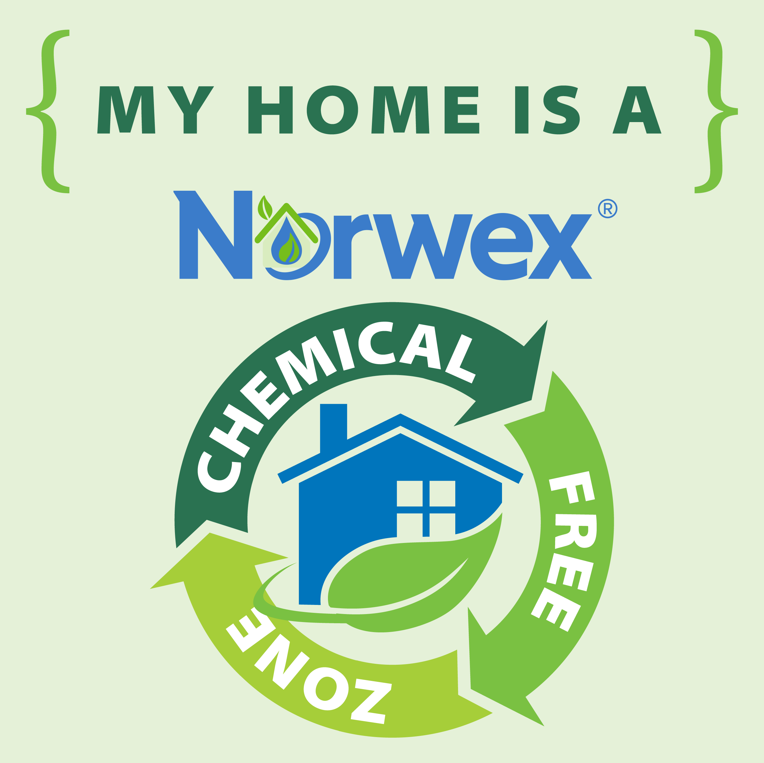 Chemical Free Badges Green 1 Png 2502 2500 Norwex Norwex Consultant Norwex Party