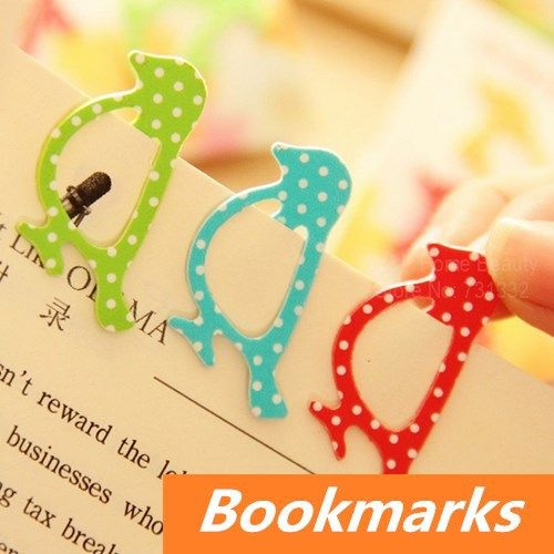 64 pcs/Lot cute Animal metal bookmark for Book Page Holder Novelty book marker stationary office materials School supplies 6408-in Bookmark ...