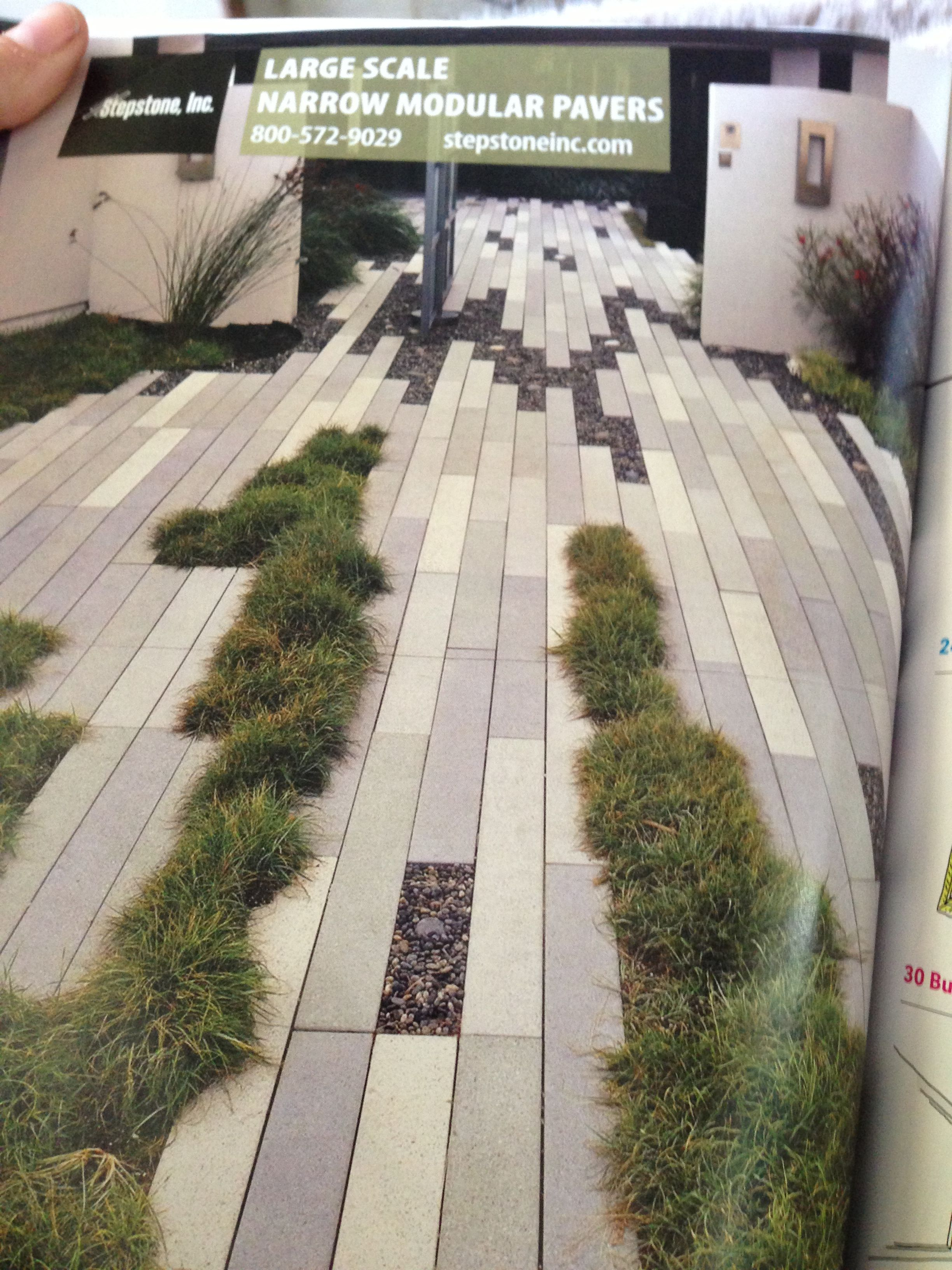 """Stepstone"" pavers for lower patio area in San. Large ... Stepstone"