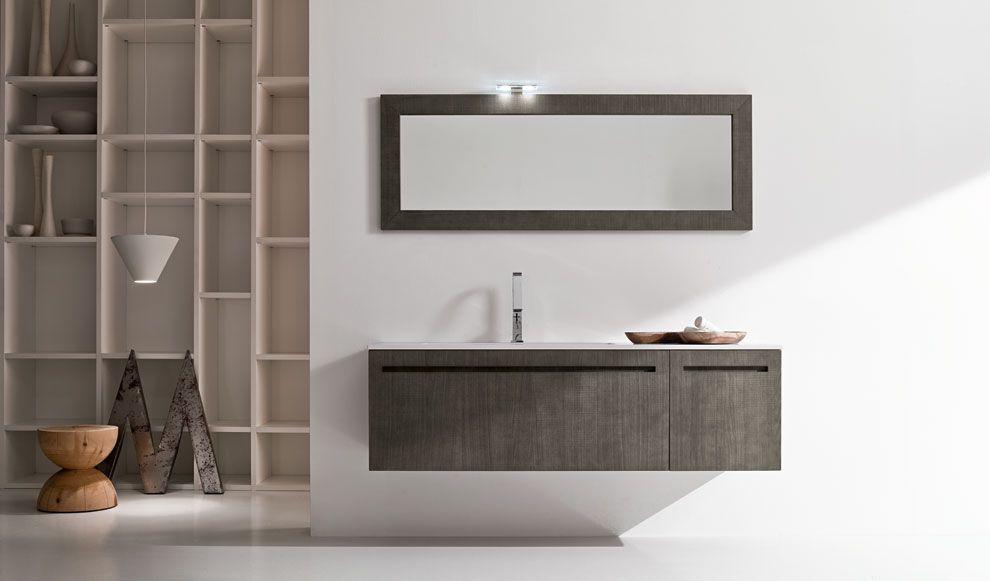 mobili bagno dai colori naturali e linee pulite per un arredo ... - Arredo Bagno Naturale