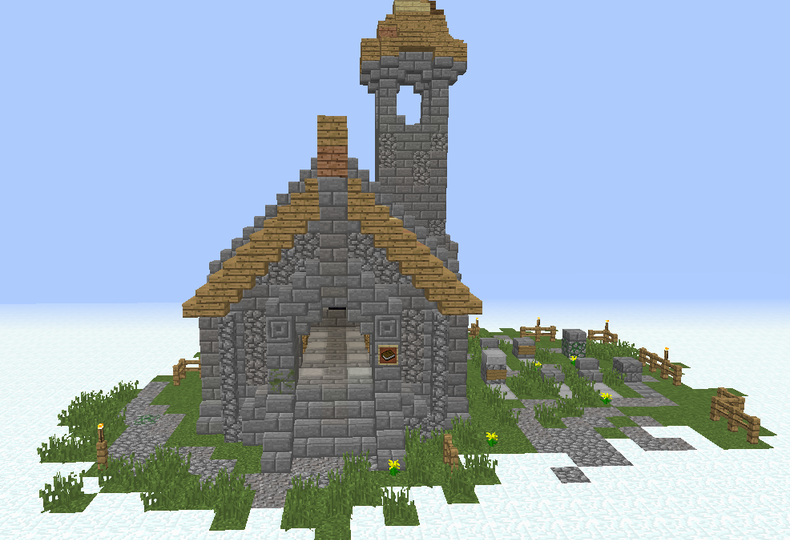 . Simple Medieval Church   GrabCraft   Your number one source for