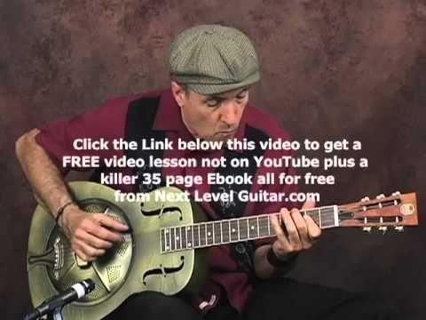 Acoustic Delta Blues guitar lesson | Blues lessons | Pinterest ...