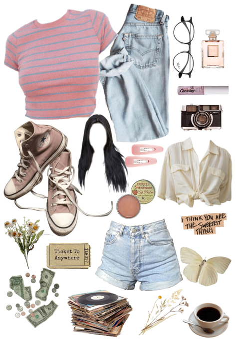 the soft vintage girl Outfit | ShopLook