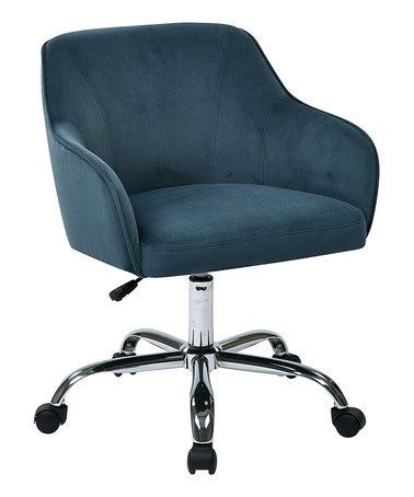 This Atlantic Task Chair Is Perfect Zulilyfinds Velvet Office