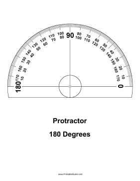 Printable Protractor Download Free Printable Protractor Ausdrucken Schablonen Architekturmodellbau