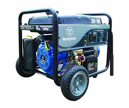 Portable Gas Generator 7500 Watt Power Electric Rv Camping Start Home Quiet New Westinghouse Electricity Generation