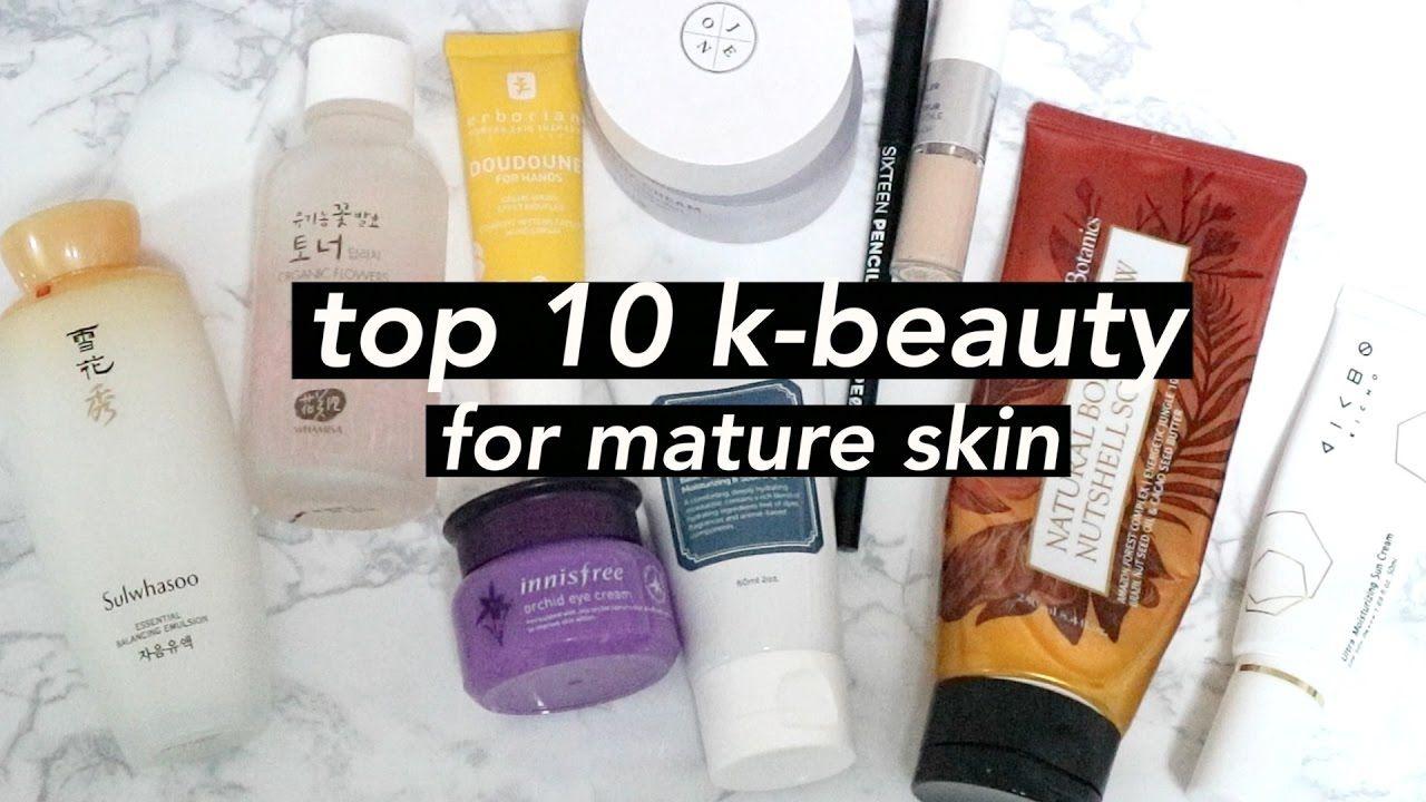 Korean skincare for mature skin