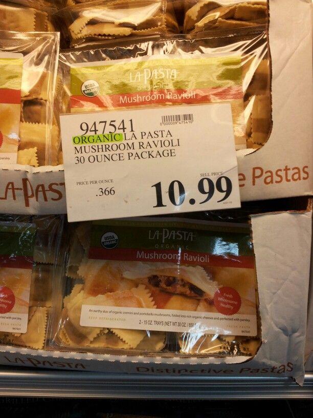 42315 Organic mushroom ravioli | Store - Costco | Mushroom