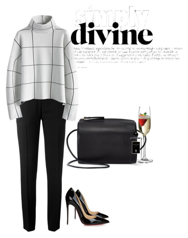 """Untitled #121"" by theelace ❤ liked on Polyvore featuring Chloé, Chicwish, Christian Louboutin, Building Block and Serge Lutens"