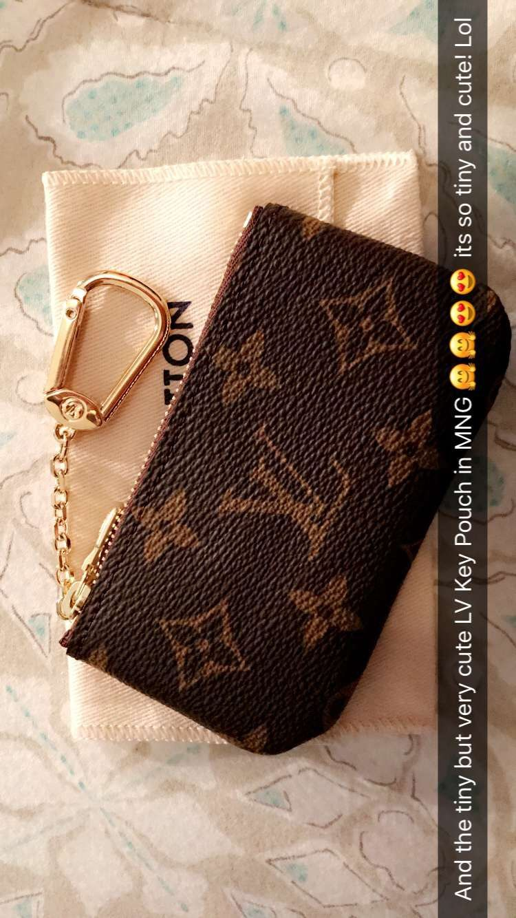 Love This Little Lv Key Pouch ️ Its So Tiny And Cute