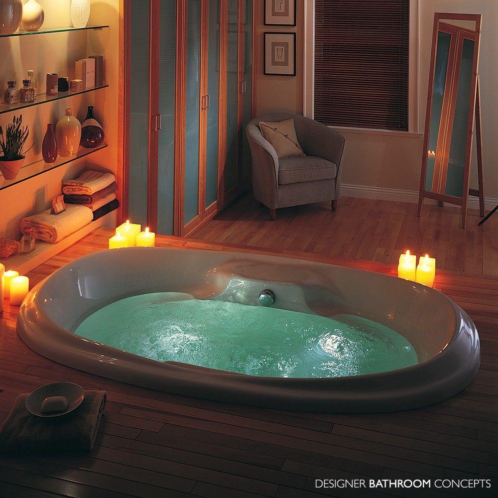 Designer Royale Air Spa Bath from DesignerBathroomConcepts.com ...
