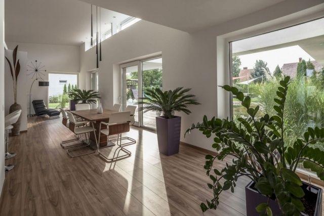 Carrelage imitation parquet - idées pour lu0027intérieur moderne Salons - Salle A Manger Parquet