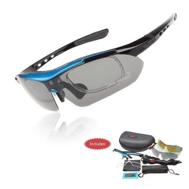 Polarized Cycling Sunglasses Glasses Eyewear Bike Fishing UV400 5 Lens Sports