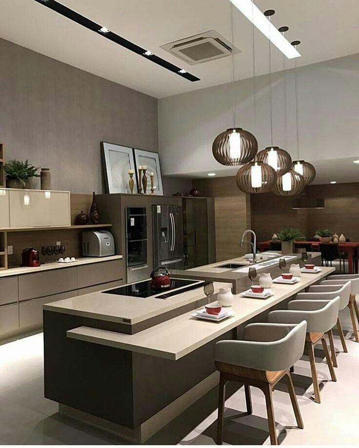 Pin de Xoel en Iluminación | Pinterest | Cocinas, Cocina moderna y ...