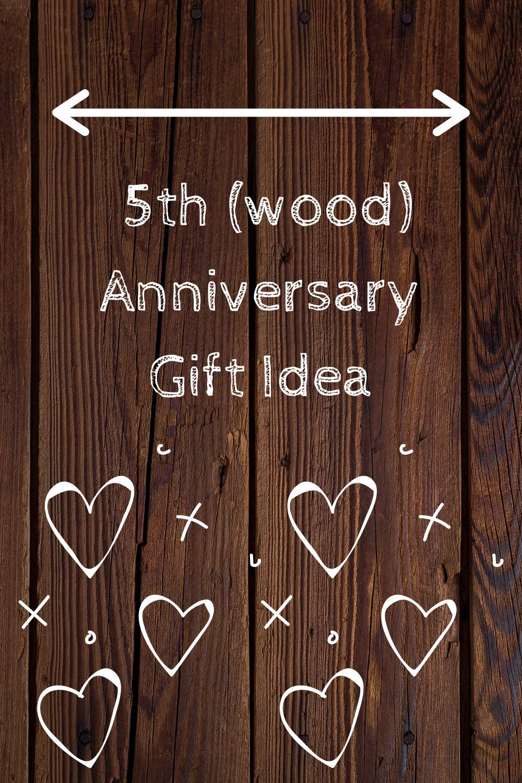 5 year anniversary gift for boyfriend 5th wedding