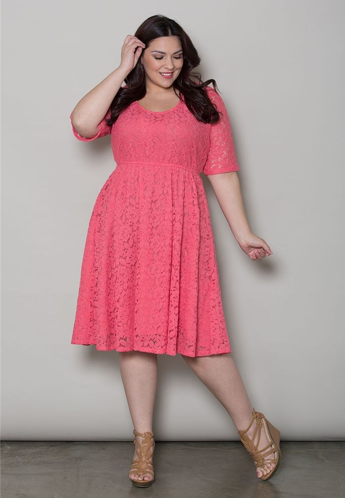 Plus Size Dresses | Harlow Lace Dress | Swakdesigns.com | ropa ...