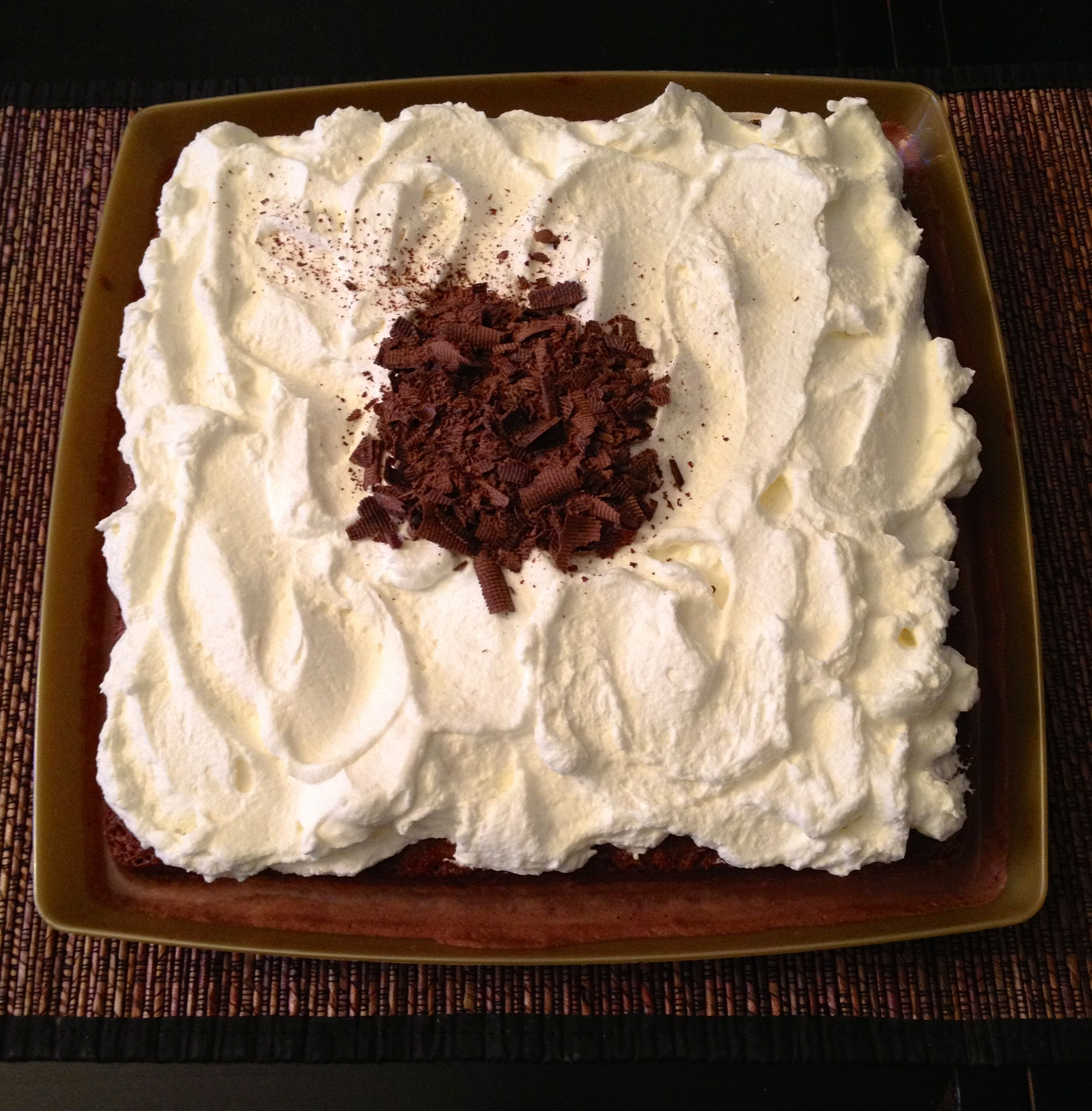 Chocolate Tres Leches | Cakes I've made | Pinterest