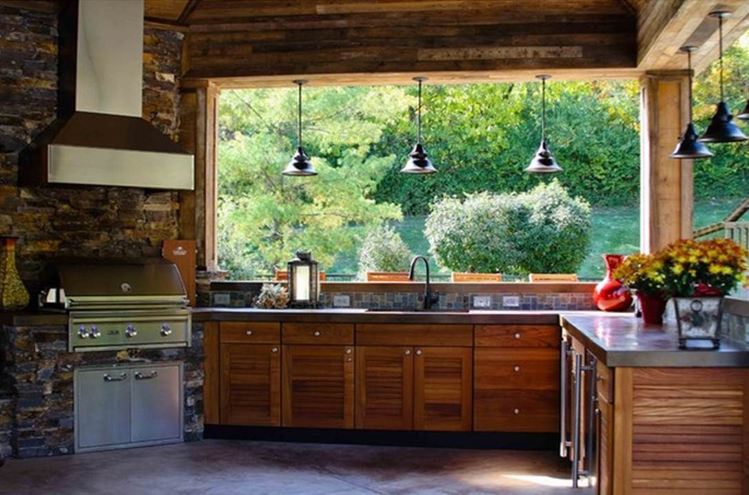 Craftmade Lighting Union Collection One Light Pendant Rustic Outdoor Kitchens Outdoor Kitchen Design Outdoor Kitchen Patio