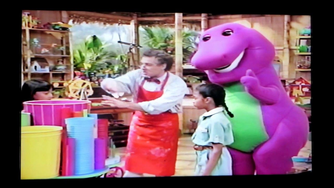 barney u0027s round and round we go 2002 part one vhs tape barney
