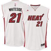 fdc5c955cf  NBAStore.com -  NBAStore.com Men s Miami Heat Hassan Whiteside adidas White