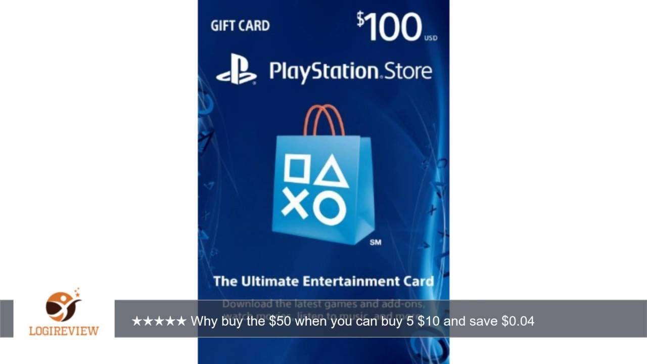 $100 PlayStation Store Gift Card - PS3/ PS4/ PS Vita [Digital Code ...