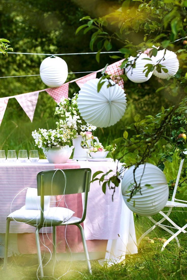 Garden Party | Most beautiful gardens, Summer garden, Garden