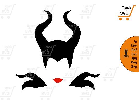 Malefica Svg Maleficent Svg Sleeping Beauty Svg Malefica