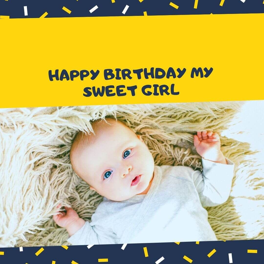 Happy Birthday Sweet Girl in 2020 Birthday wishes for