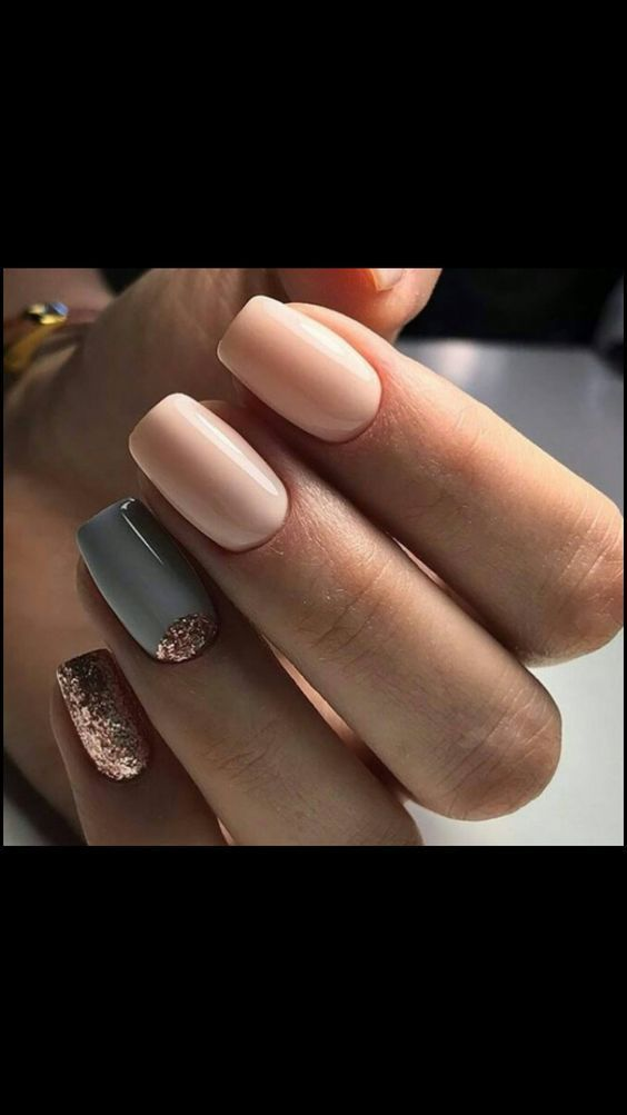 50 Autumn Fall Nail Colors Design to Follow Trends | Nail color ...