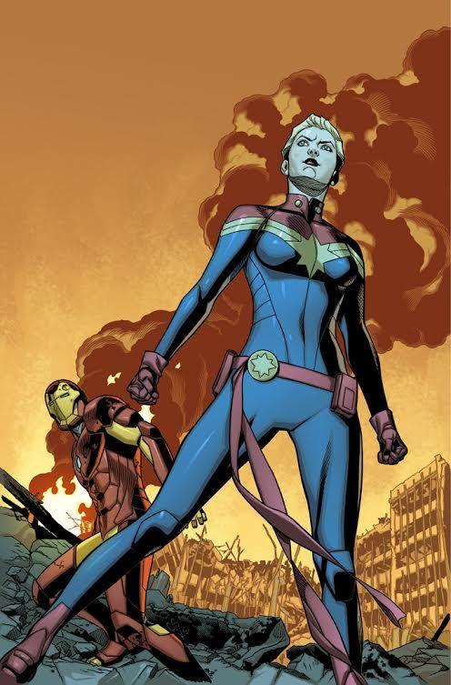 Primeiras imagens da primeira edição de Guerra Civil II ~ Universo Marvel 616
