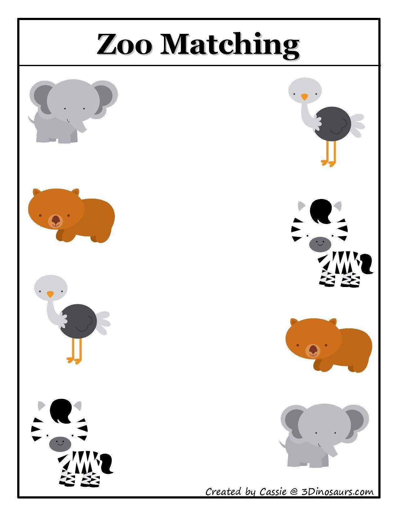 Pin By Denia Patricia Quesada V On Kinder Ideas Zoo Activities Fun Preschool Worksheets Preschool Zoo Theme [ 1650 x 1275 Pixel ]