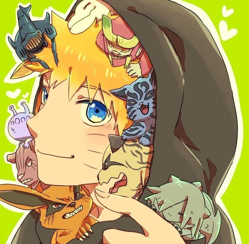 Наруто анимэ арт Naruto anime art Наруто, Наруто узумаки