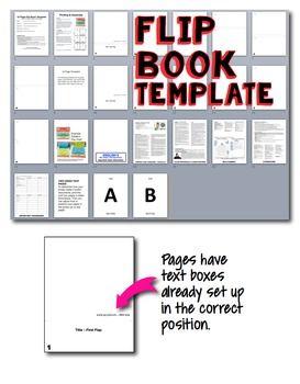 Flip Book & Notebook Templates