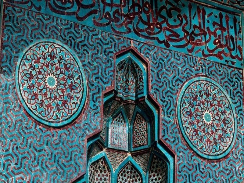 برنارد أوكين مساجد من الأندلس إلى أصفهان City Photo Aerial Photo