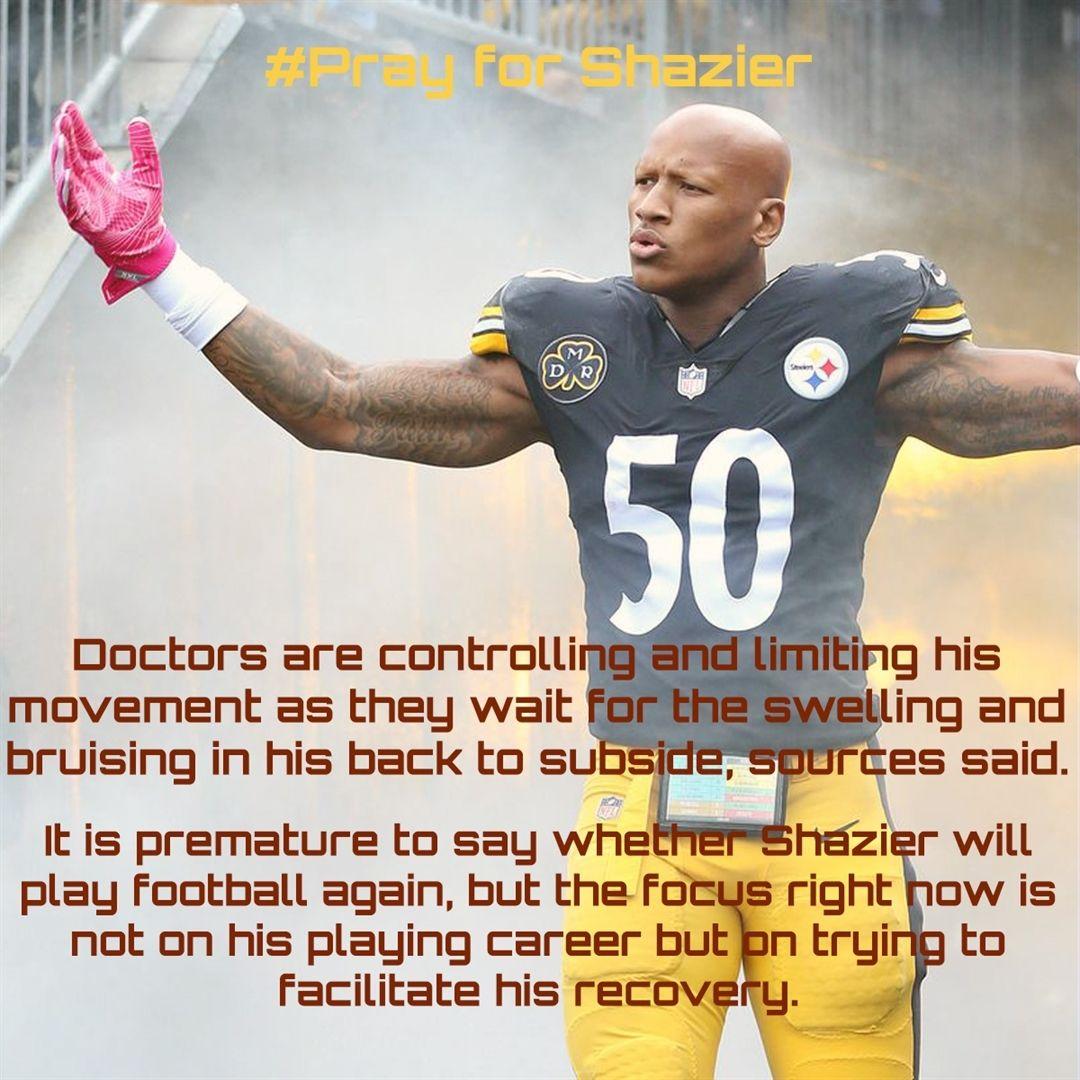 Shazier injury. Joe greene, Steelers meme, Pittsburgh